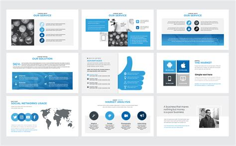 Canva Multipurpose Presentation Powerpoint Template 74412 Canva Website Template