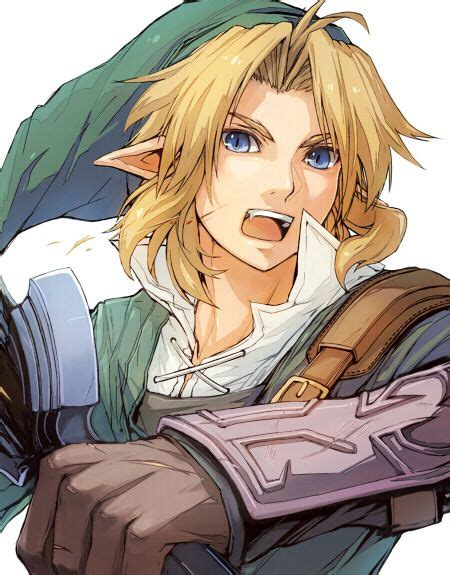 9 Anime Link by Nintendo Link From Legend Of