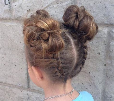 easy to make hairstyles for medium hair at home quick easy updos for kids 2018 easy little girl