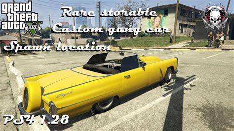 Auto Gang by Grand Theft Auto V Rare Selling Gang Car Spawn Location
