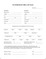 state of vermont boat bill of sale download bill of sale form for free formtemplate