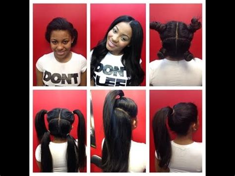 does vixen sewins work with short hair vixen sew in weave how to do vixen sew in weave follow