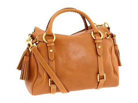 Dooney Bourke Ebelle5 Designer Dooney And Bourke Mini Handbag And Organizer Giveaway by Dooney Bourke Florentine Small Satchel In Brown