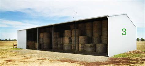 Hay Shed Cost by Hay Shed Central Steel Build