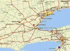map of canada toronto hortico toronto niagara area map to hortico