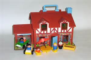 fisher price haus vintage 1980 fisher price play family house with 6