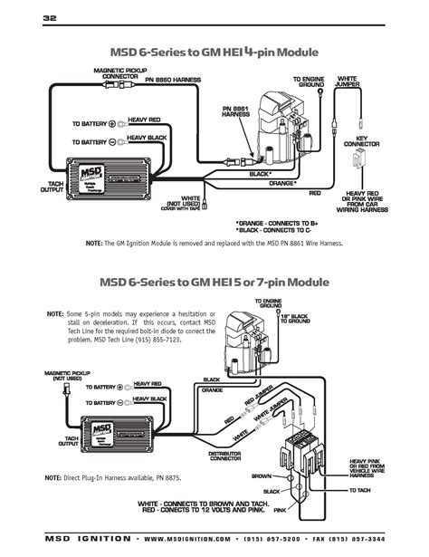 msd ignition 6al wiring diagram gooddy org