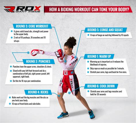 tone your with boxing workout rdx sports