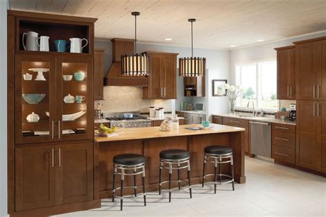 kitchen cabinets made in usa kitchen mission cherry chocolate contemporary kitchen