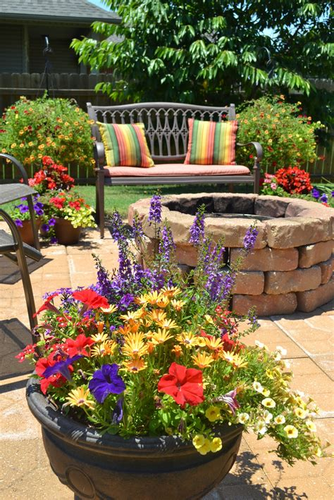 planter pit kristen s creations patio flowers vacations and a