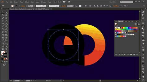 illustrator tutorial opacity mask opacity masks no illustrator gradient maps e texturas