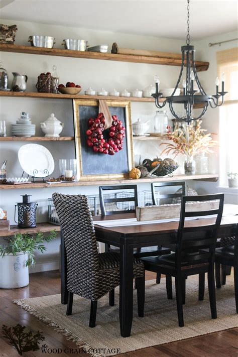 fall home tour part three the wood grain cottage