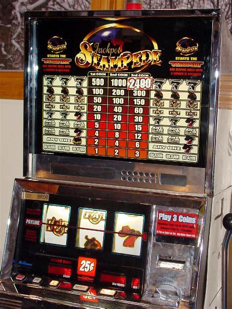 jackpot stampede slot machine williams wms slot machines spinning reel gambling