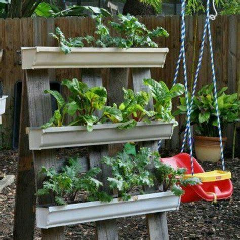 Gutters As Planters gutters as planters outside ideas