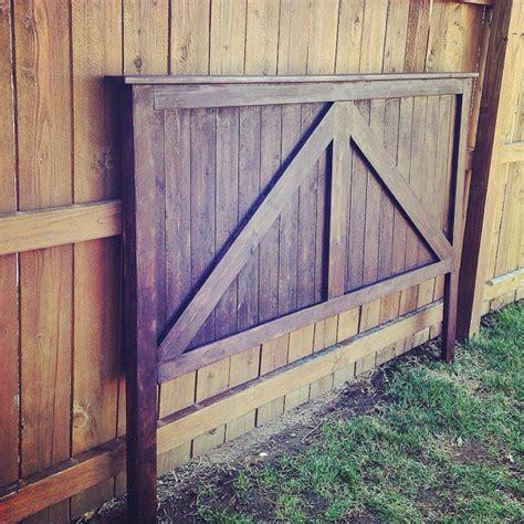 rustic door headboard twin full queen king size barn door headboard rustic