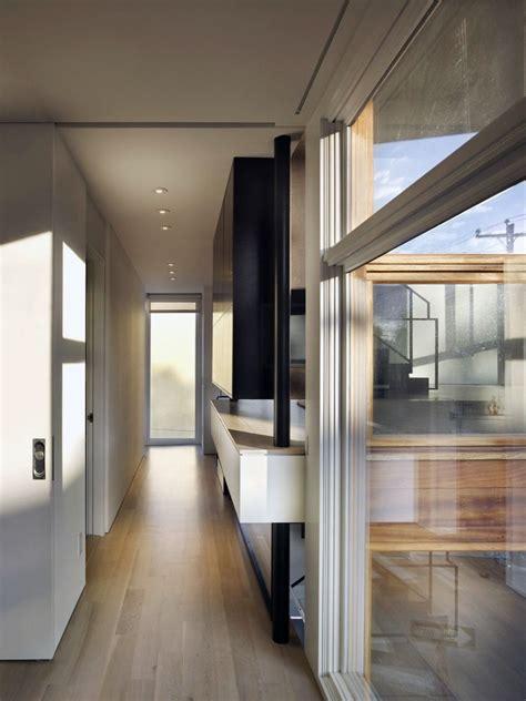 hall design in house hall split level house in philadelphia by qb design