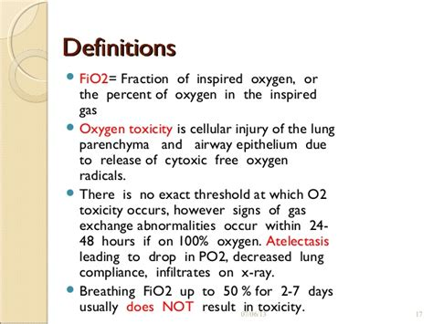 room air fio2 oxygen therapy