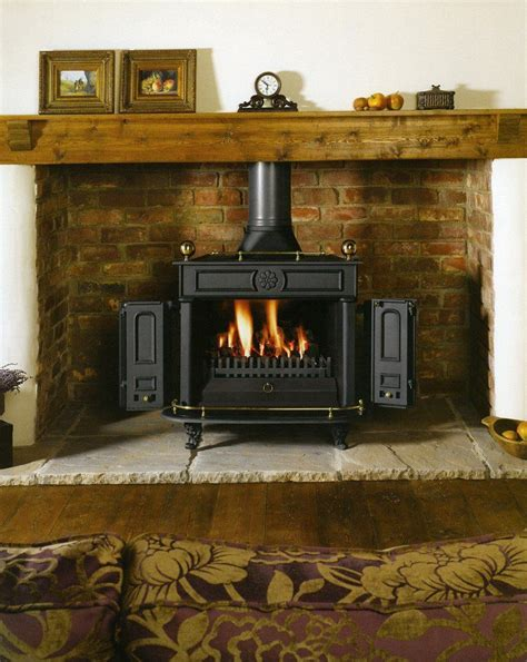 Adding Wood Stove To House - corner wood stove designs all things adding some