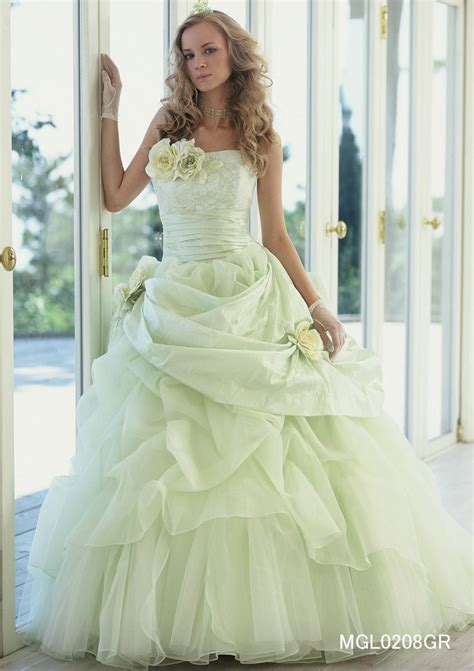 lime green wedding dress lime green wedding pinterest