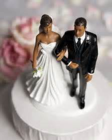 black wedding cake toppers chic american wedding wedding collectibles