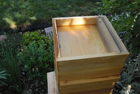 Bee Feeder Backyard Bee Hive How To Use A Hive Top Feeder Part I