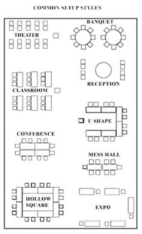 event layout types this is chevron room setup meeting room setup