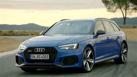Audi Rs4 Avant by 2018 Audi Rs4 Avant Footage