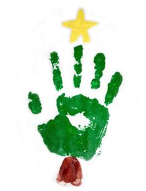 christmas tree crafts for preschool using handprint 1000 images about handprint and footprint calendar on calendar crafts and prints
