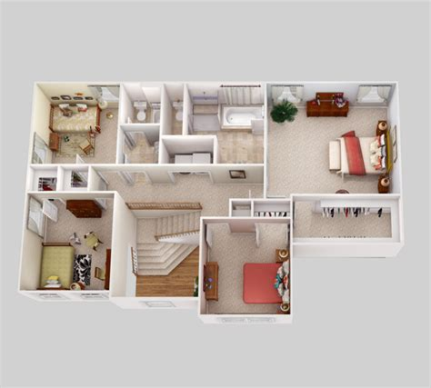 3d isometric views of small house plans home appliance floor plans new home floor plans