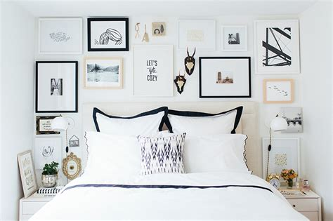 bedroom gallery wall how to curate art for a collage gallery wall minted