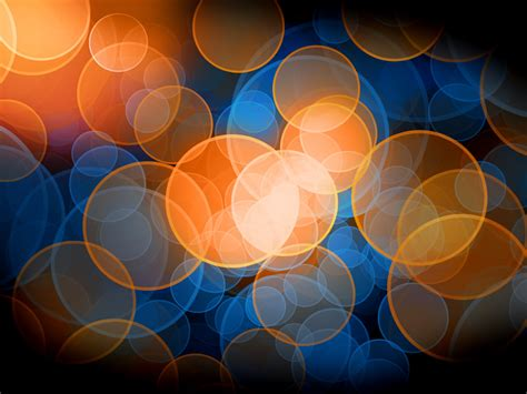 blue and orange blue and orange bokeh by prince charmless on deviantart