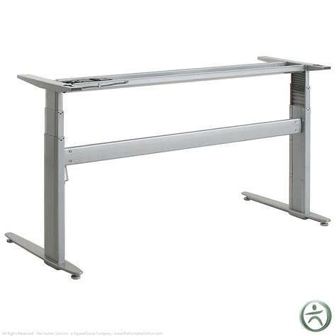 sit stand electric desk shop conset 501 27 electric sit stand desk base