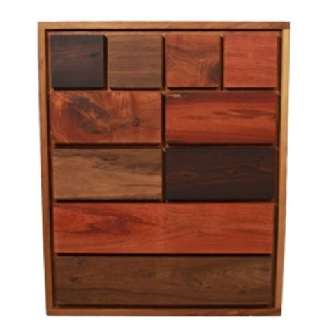 Patchwork Wood Furniture - wooden furniture inspired by patchwork