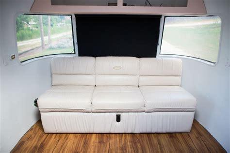 airstream couch 70th anniversary airstream gaucho sleeper sofa