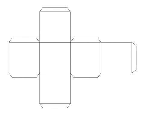 cube template pdf template cube template