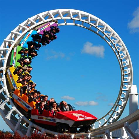 theme park new zealand rainbow s end new zealand s largest theme park