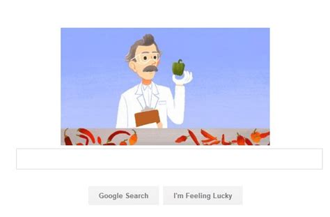 play doodle pepper marks birthday of us pharmacist wilbur scoville