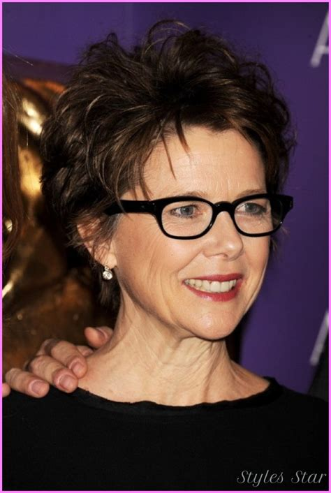 short hairstyles glasses short haircuts for women over with glasses stylesstar com