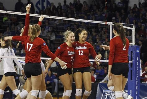 printable nebraska volleyball schedule kansas city here they come nebraska volleyball defeats