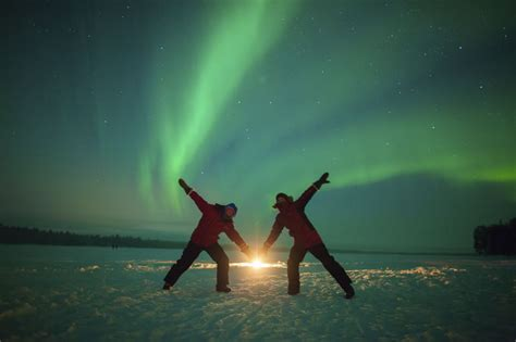 Experience The Northern Light In The Winter Finland Tours