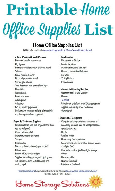 The Office Breaks Back by Free Printable Home Office Supplies List Back To Back