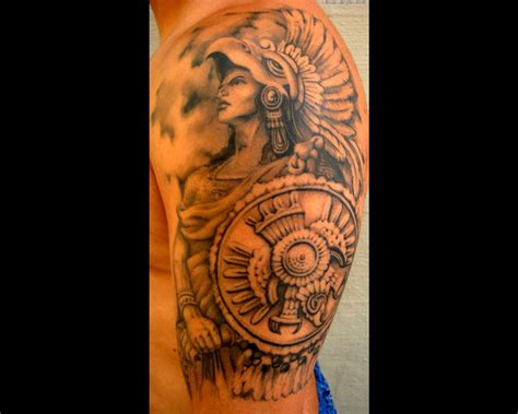 aztec arm tattoos aztec tattoos and designs page 165