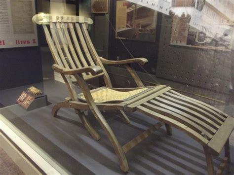 titanic deck chair titanic 100 anniversary of sinking st community
