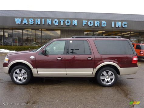 ford expedition red 2009 royal red metallic ford expedition el king ranch 4x4