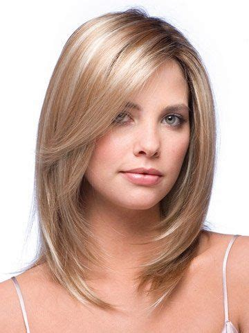 Layered Face Frame Hair Dos | layered medium length hair with face framing layers