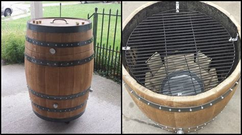 Cork Countertop how to build a whiskey barrel bbq smoker page 1