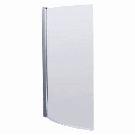 1400 shower bath 1400 curved shower bath screen at plumbing uk