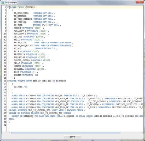 Oracle Create Table Primary Key by Oracle Sql Data Modeler Missing A Primary Key On Ddl