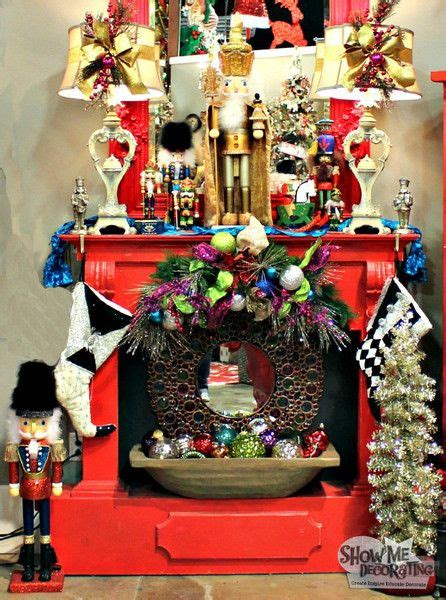 show me collecting decorating with nutcrackers