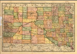South Dakota State Map by South Dakota Maps South Dakota Digital Map Library Table